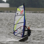 Tim Leutscher windsurf planeert