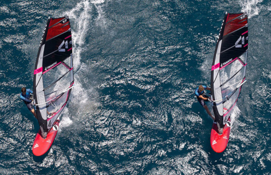Soorten-windsurf-materiaal-slalom