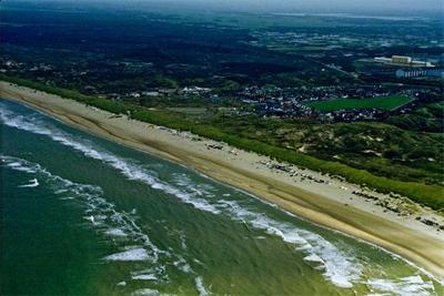 windsurfen op zee Leerwindsurfen Windsurfschool zandbanken Wijk aan Zee