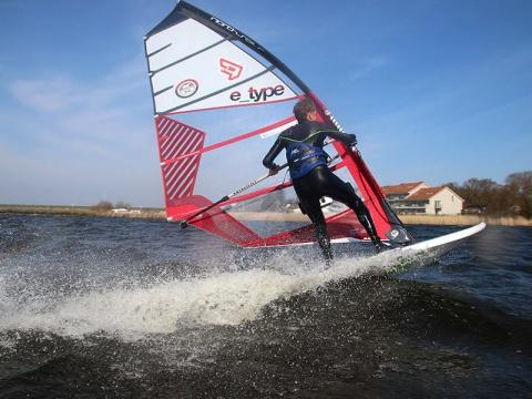 Thomas mooij gijp Leerwindsurfen