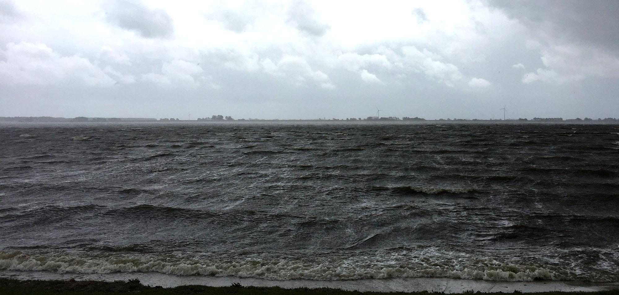Amstelmeer lutjestrand wind